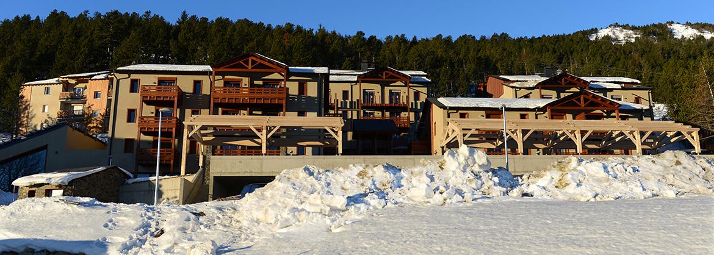 Résidence Les Chalets de l'Isard - Vacancéole - Les Angles - Ski